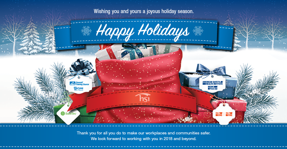 Happy Holidays From All Of Us At HSI